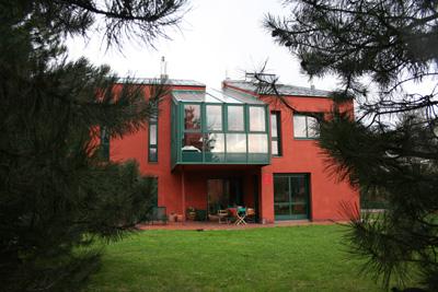 Rote Häuser Bilder architekt di michael prachensky das rote haus welser