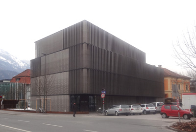 Architekt di michael prachensky for Modernes wellnesshotel tirol