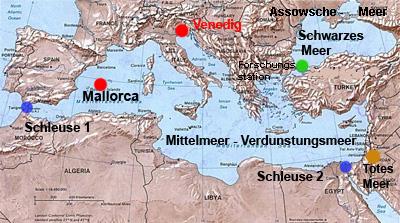 Meerenge Von Gibraltar Karte.Rettet Venedig Salvare Venezia Salvare Il Mare Mediterraneo