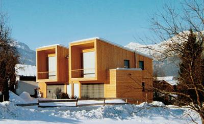 Moderner holzbau  Architekt DI. Michael Prachensky
