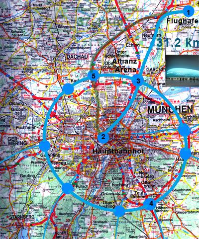 Alternative Verbindung München Zentrum Flugplatz